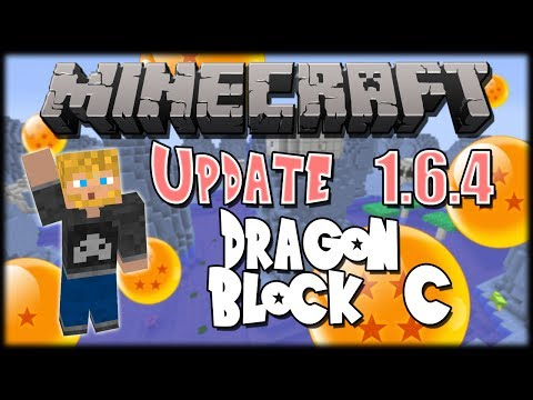 Minecraft Mod : Dragon Ball Z Update (1.6.4)
