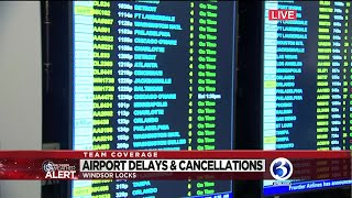 VIDEO: Some cancellations reported at Bradley