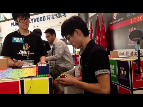 Syuhei Omura 6x6x6 2:18.xxx Single At Asian2012 video
