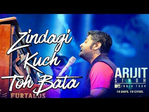 Zindagi Kuch To Bata LIVE By ARIJIT SINGH At MTV INDIA TOUR