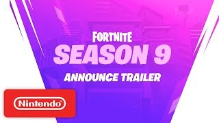 Fortnite Season 9 on Nintendo Switch - The Future is Yours!
