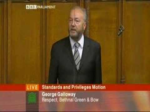 Georges Galloway vs. Speaker_house _of_commons Video