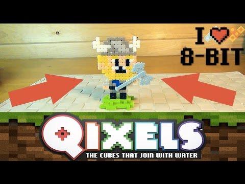 Qixels - Квикселс Набор для творчества - Пиксельные игрушки - 8 bit