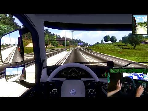 Euro Truck Simulator 2 + Logitech G27 + MOD de Gráficos