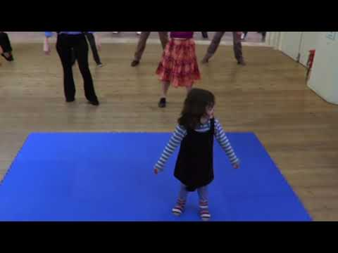 Cute Girl Has A Catchy Dance