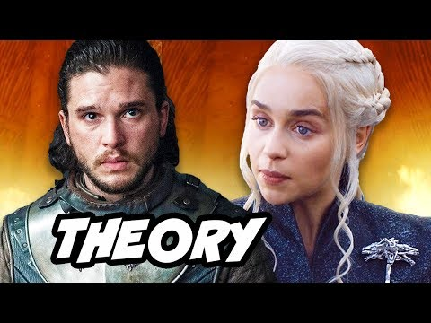 Game Of Thrones Season 7 Jon Snow in Daenerys Targaryen Visions THEORY