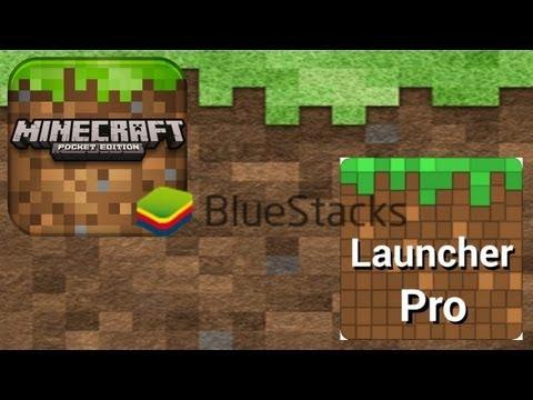 Tutorial Bluestacks + pack de texturas  - Tutorial Minecraft Pocket Edition 0.6.1