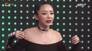 Trường Giang Chặt Chém Tả Tơi Tóc Tiên Trong Gameshow