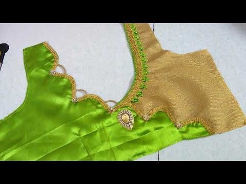 Designer blouse cutting and stitching || women's fashion blouses || designer blouses for sarees