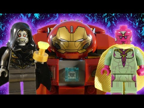 LEGO AVENGERS INFINITY WAR PART 4 - BATTLE FOR THE MIND STONE - MARVEL STOP MOTION