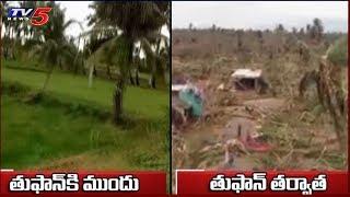 AP CM Chandrababu And Minister Nara Lokesh Visits Titli Affected Areas  - netivaarthalu.com
