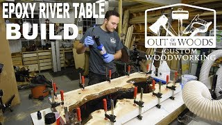 Epoxy River Table!! | Woodworking How-To