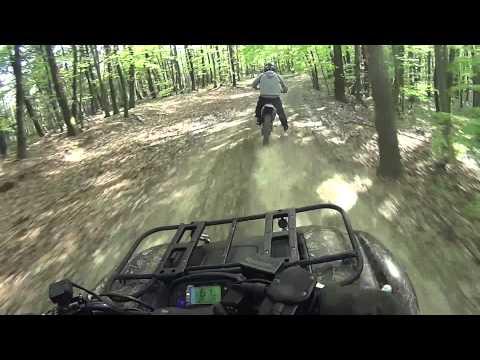 Yamaha YZ125 Crash