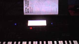 STYLE POP DOO-WOP CASIO WK-7600
