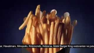 Burger King® - Kova Patates + 2 King Boy Pepsi Kampanyası