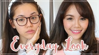 How To: แต่งหน้าเดินห้าง Everyday Makeup Look +Skincare + Hair