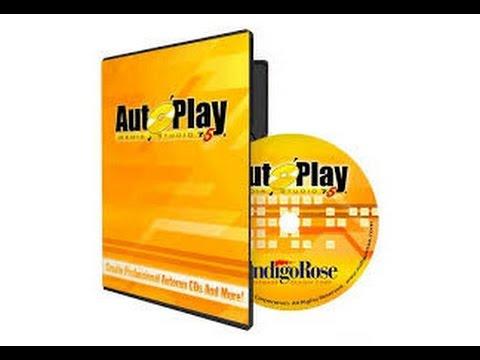 Chapitre 3, insertion de tetxte,  animation flash, image sur autoplay media studio