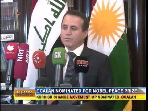 Ocalan's Nomination For Nobel Peace Prize