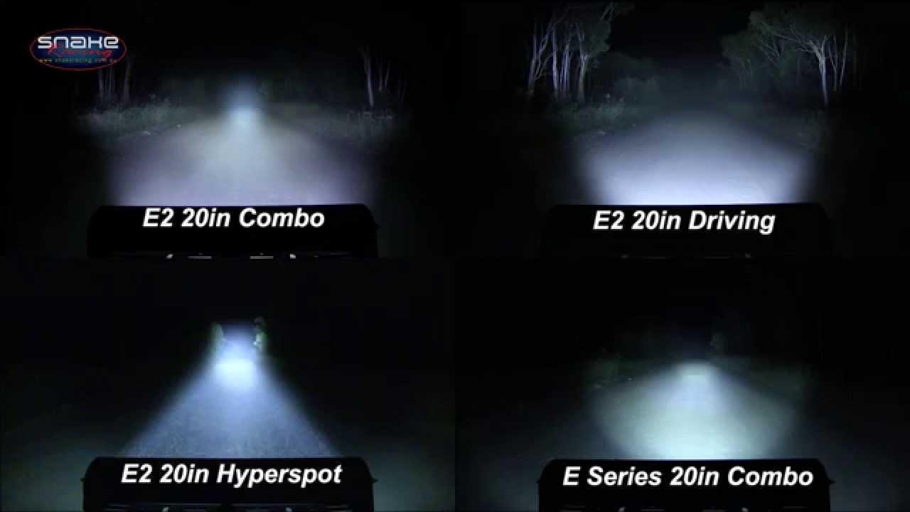 Rigid Industries 20 Quot E Series Lightbar Comparison