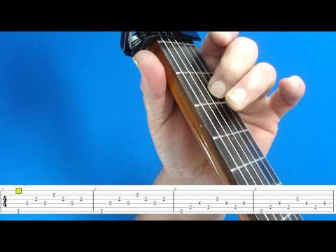 EVERY BREATH YOU TAKE GUITAR LESSON 1 (TAB ON SCREEN) Music Videos