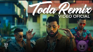 Alex Rose - Toda (Remix) Ft. Cazzu, Lenny Tavarez, Lyanno & Rauw Alejandro (Video Oficial)