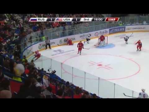 Россия - Сша 2-1. Rus - USA 2-1. IIHF WORLD JUNIORS CHAMPIONSHIP 2013. 28.12.12