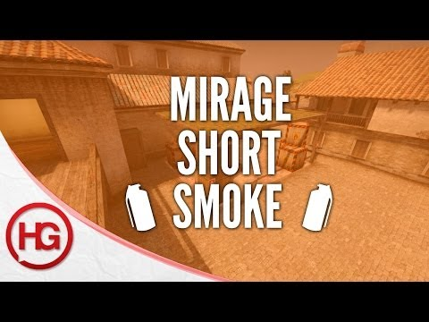 CS:GO Nade Spots - Mirage, Short Smoke