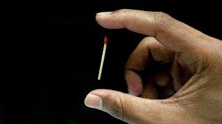 4 MagicScience Tricks With Matches For Prank