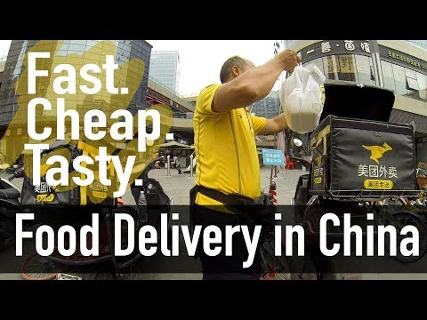Food Delivery in China - Life Just Got Easier // This is China