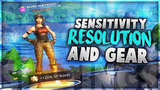 My Fortnite Settings! // Resolution, Sensitivity & Gear (MOST REQUESTED VIDEO!)