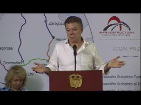 Palabras del Presidente Santos en la presentación