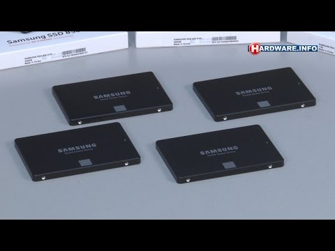 Samsung 850 Evo SSD review - Hardware.Info TV (Dutch)