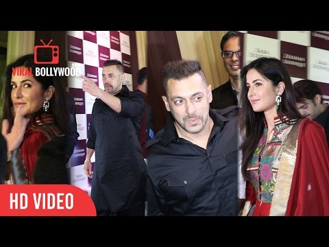 Salman Khan And Katrina Kaif At baba siddique iftar party 2016 | Viralbollywood.com