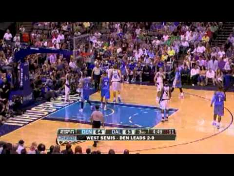 Dallas Mavericks vs Denver Nuggets Game 3 Playoffs .. Carmello with the game winning three