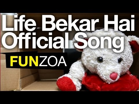 Life Bekar Hai- Cute Teddy Bear Singing Funny Hindi Song + Lyrics video