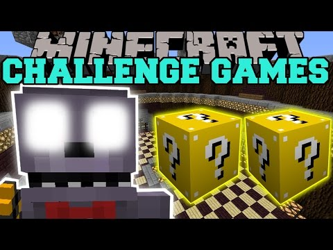 Minecraft: Bonnie Challenge Games - Lucky Block Mod - Modded Mini-game video