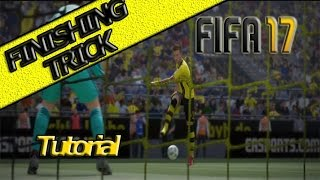 FIFA 17 FINISHING TRICK TUTORIAL / BEST SHOT IN THE GAME / SCORE FINESSE FROM EVERYWHERE TRICK