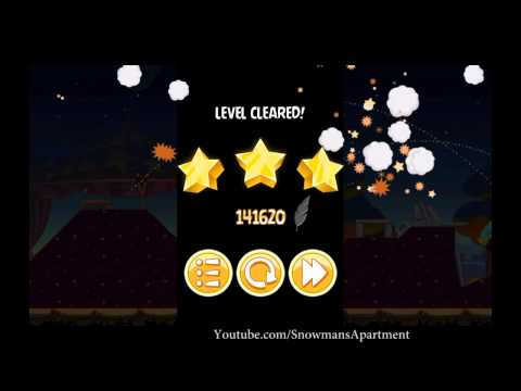 Abra-Ca-Bacon 1-6 Angry Birds Seasons - level 6 Walkthrough 3 Stars (HD)