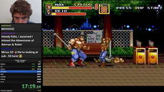 Streets of Rage 2: Mania% World Record [WR] again ...ummm ... WOOT!!!