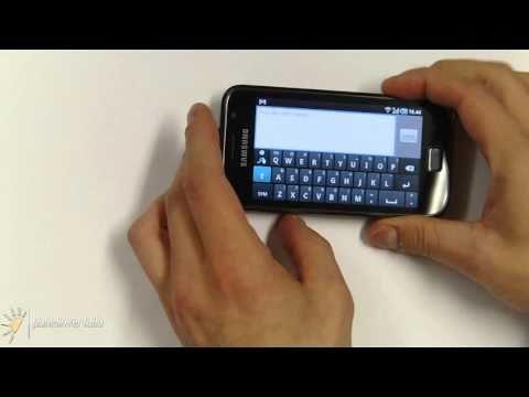 Samsung Galaxy S - Swype