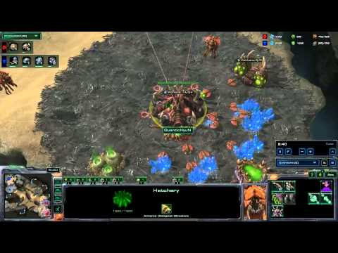 StarCraft 2 Tutorial: Zerg vs. Terran - Roach Build Order - Part 1/2