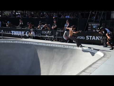 WILLY LARA DEW TOUR LONG BEACH PRO BOWL JAM HIGHLIGHTS