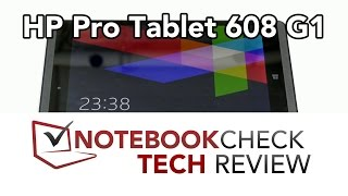 HP Pro Tablet 608 G1 detailed review, performance tests.