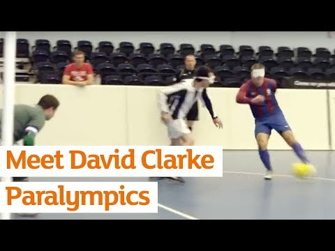 England five-a-side Football Player, David Clarke, and his Dedication to His Sport and Family