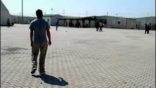 Cricket Eid ul fitr 2012 in Bari Camp 1