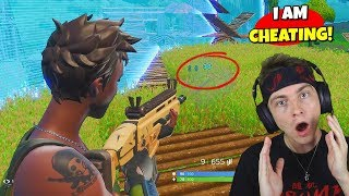 so i started cheating in fortnite... (will i get banned?)