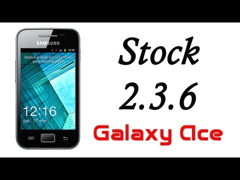 ROM Stock OFICIAL 2.3.6 [The Sensation] Flasheable - Galaxy Ace HD