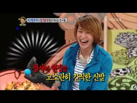120426 Onew laughed hysterically when a woman drove (CUT) Music Videos