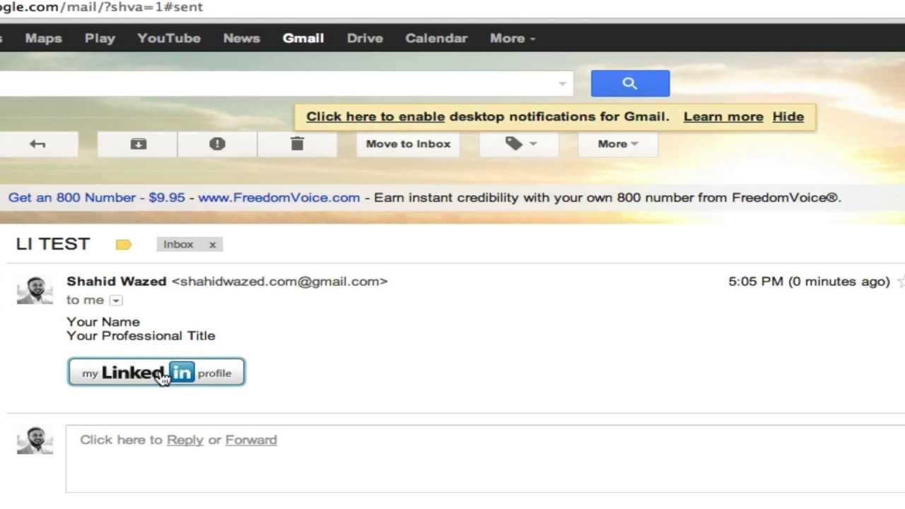 how to customize your linkedin public profile url  u0026 insert