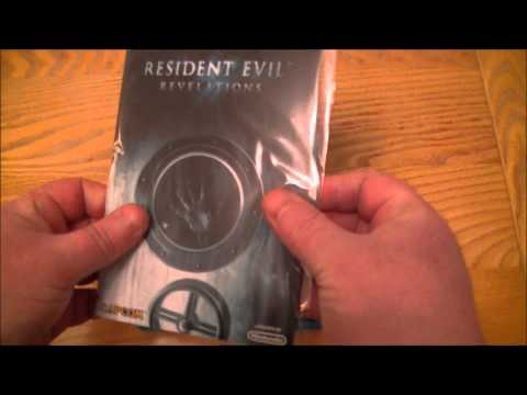 Resident Evil Revelations Nintendo Wii U Unboxing & Upcoming Wii U VS 3DS